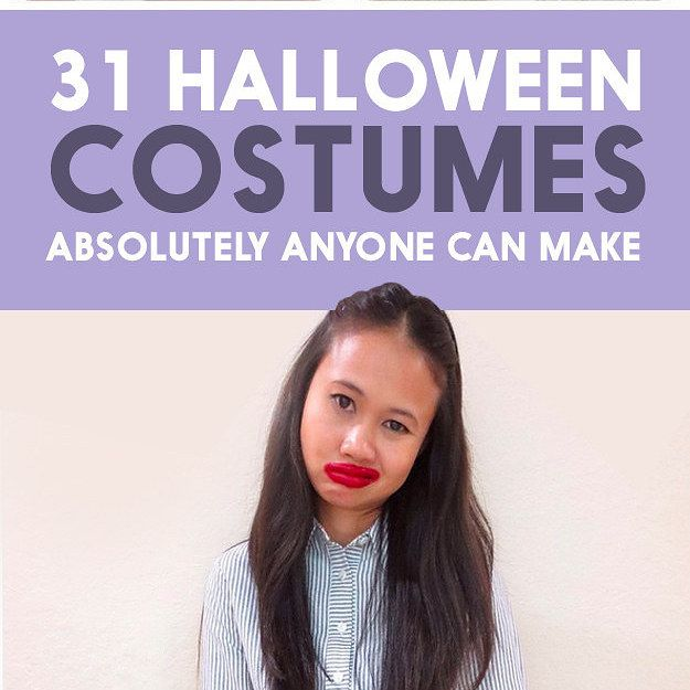 31 Halloween Costumes That Require Absolutely No Skill Halloween - creative college halloween costume ideas