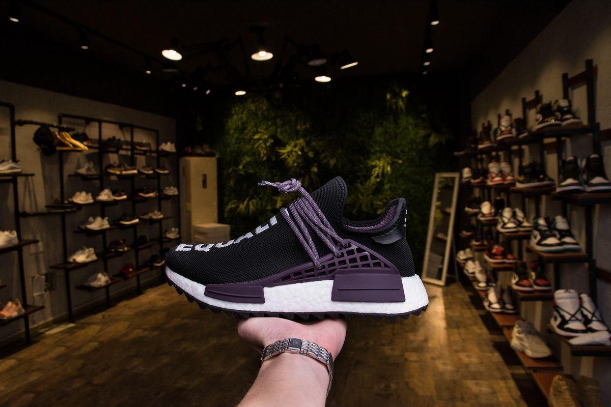 9a3e95949 Pharrell x adidas Originals NMD Hu Trail Equality AC7033 Real Boost for  Sale7