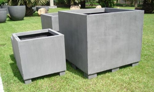 Pots Urns Large Cubes The Outdoor Decor Company