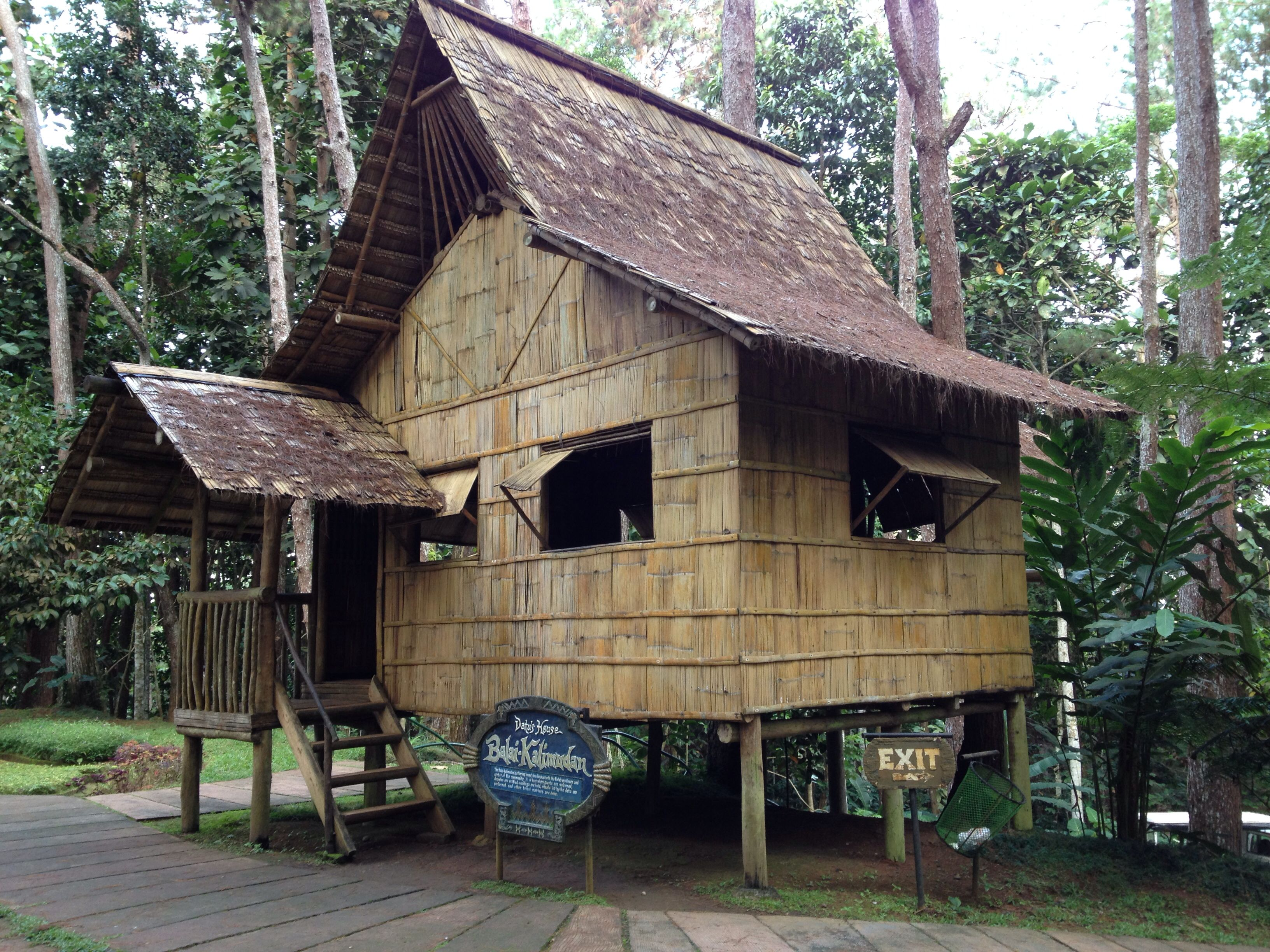 Nipa hut phillipines