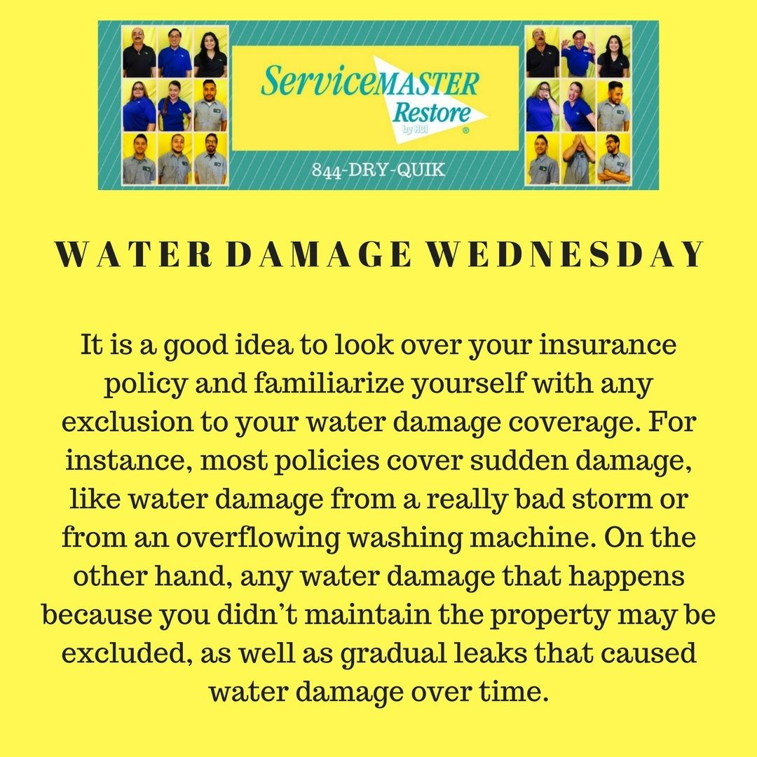 Pin By Servicemaster Restore By Hci On Servicemaster Water Damage