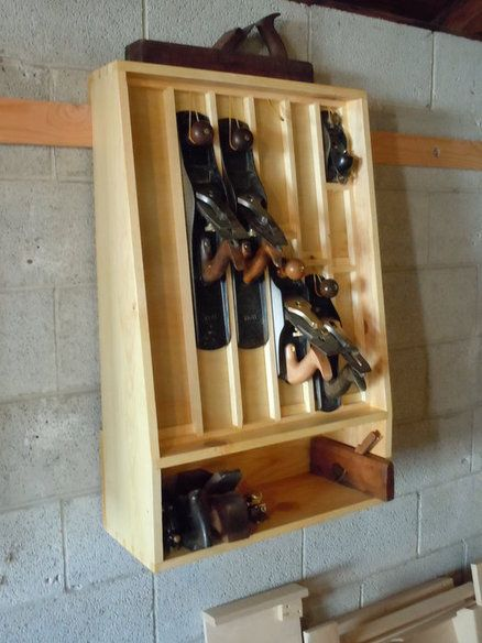 Hand plane till taller pinterest planes woodworking and tool storage - Wood cabinet design software ...