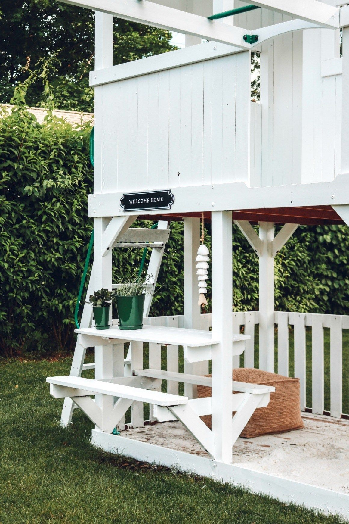 Painted Play Set and Backyard Updates - Nesting With Grace