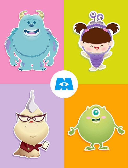 Kawaii Monsters Inc. | Flickr - Photo Sharing!