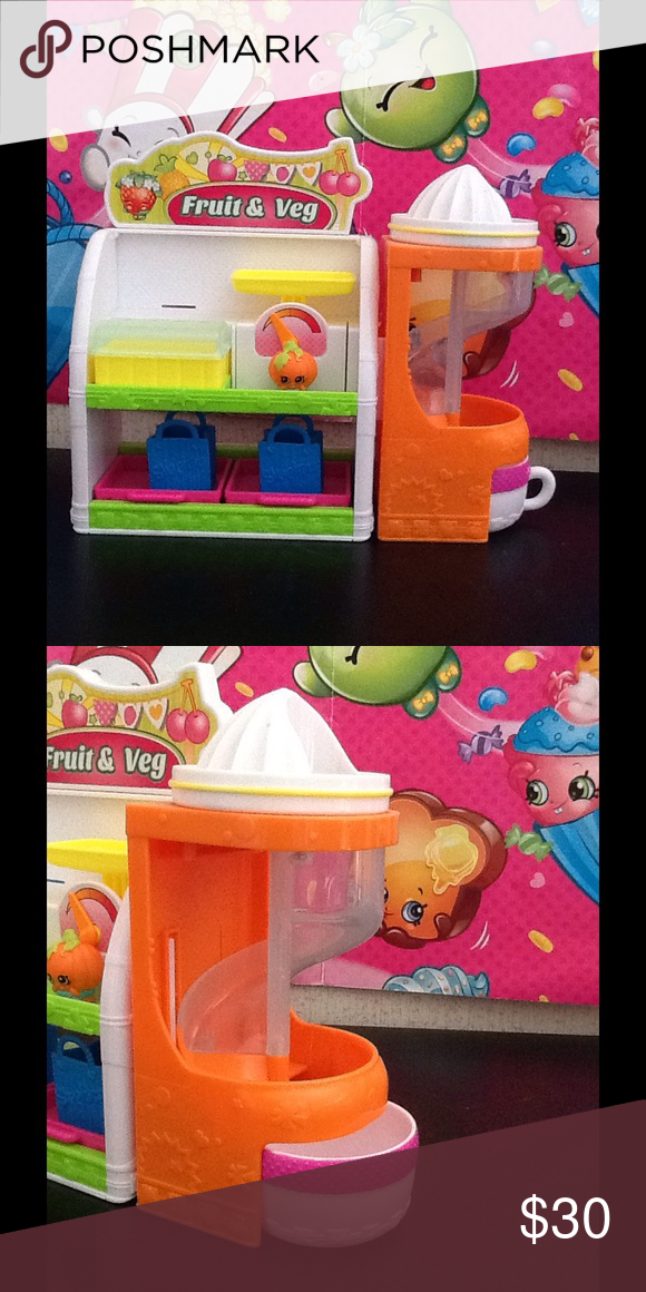Fruit & Veggie set Everything works. Shopkins Other