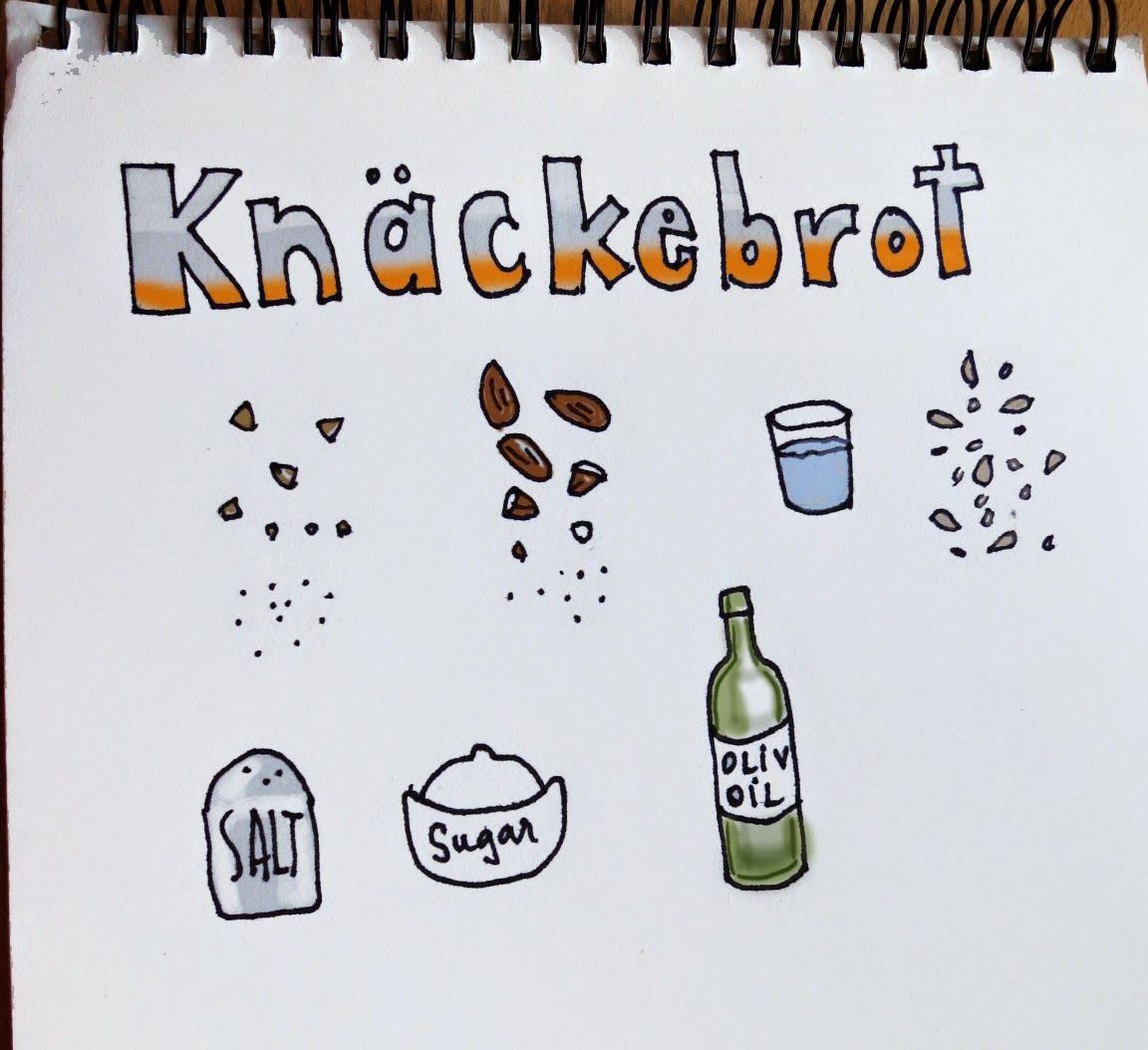 Easy and Happy Food: Knäckebröd. Crispbread. Pan crocante o galletitas ...