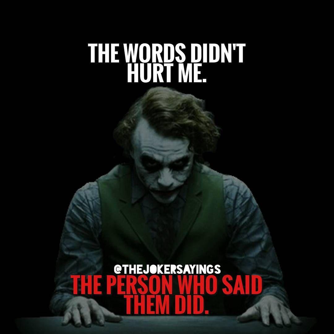 Joker Quotes (@thejokersquote) On