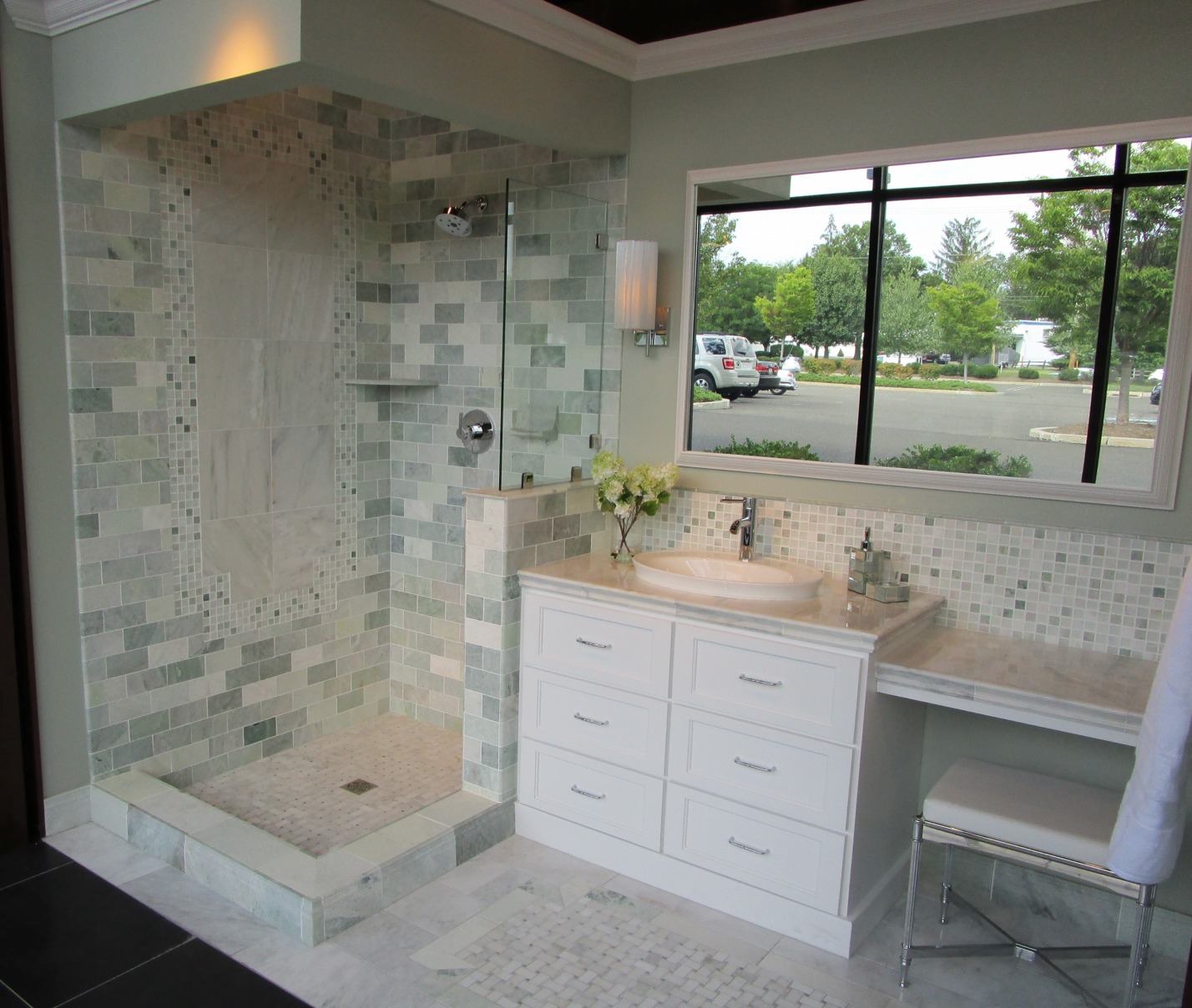 Biltmore marble bathroom Biltmore marble bathroom
