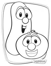 Veggie Tales Coloring Pages Google Search Veggie Tales