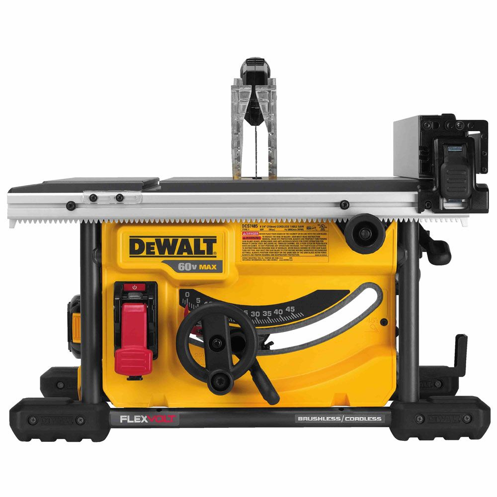 60v Max 8 1 4 Table Saw Kit Construction Fasteners And Tools Diy Table Saw Table Saw Tool Table