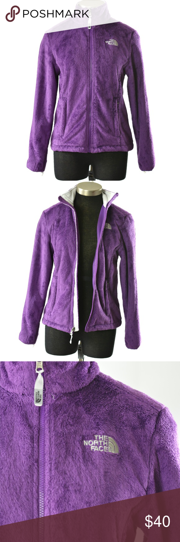 North Face Jacket Osito Fleece Purple Size Small North Face Osito Jacket Features High Pile Fleece With Tailored Waist North Face Jacket The North Face Fleece [ 1740 x 580 Pixel ]