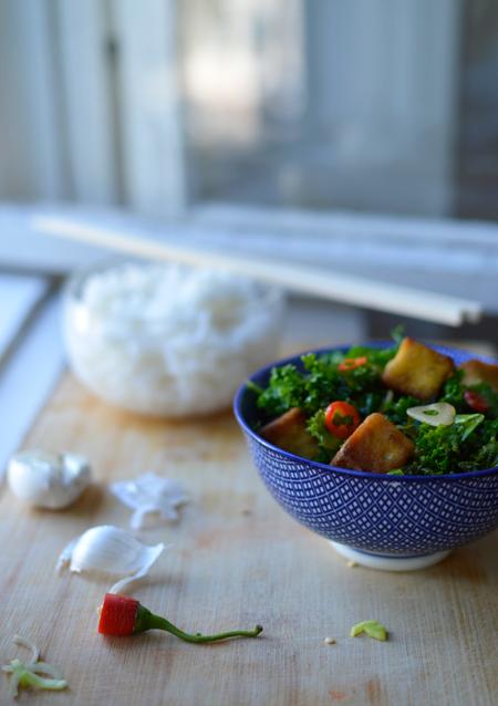 Tofu Vietnamese style.