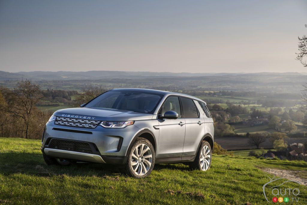 Land Rover unveils the 2020 Discovery Sport Land rover