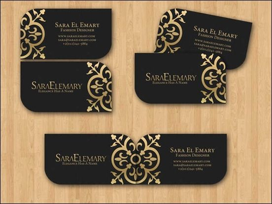 40 Creative And Beautiful Business Card Designs Fashion Business Cards Business Card Design Creative Visiting Card Design