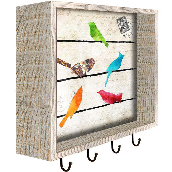 Morning Bird Wall Rack - Playful Productivity on Joss & Main