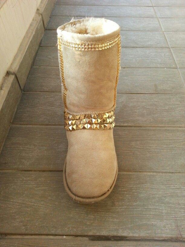 e5e7fadd7ee Old ugg boots diy