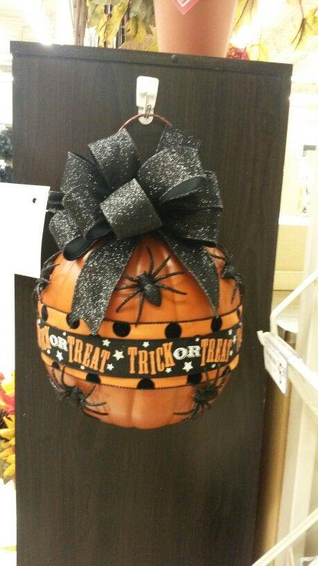 Kayla@michaels lisbon ct Half pumpkin wall decor ideas from - michaels halloween decorations