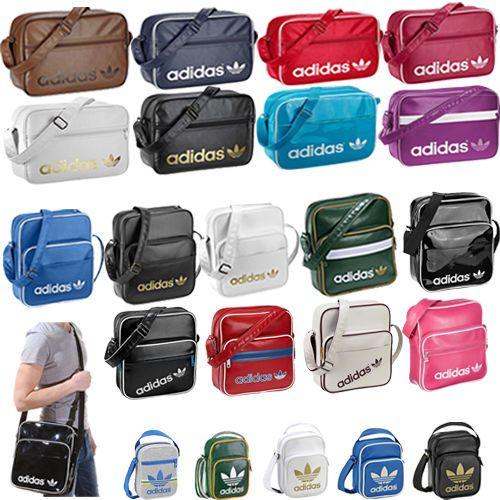 57e7e283ea7a Adidas Originals Bags - Mens Boys Girls Adidas School Side Bags Shoulder  Bags