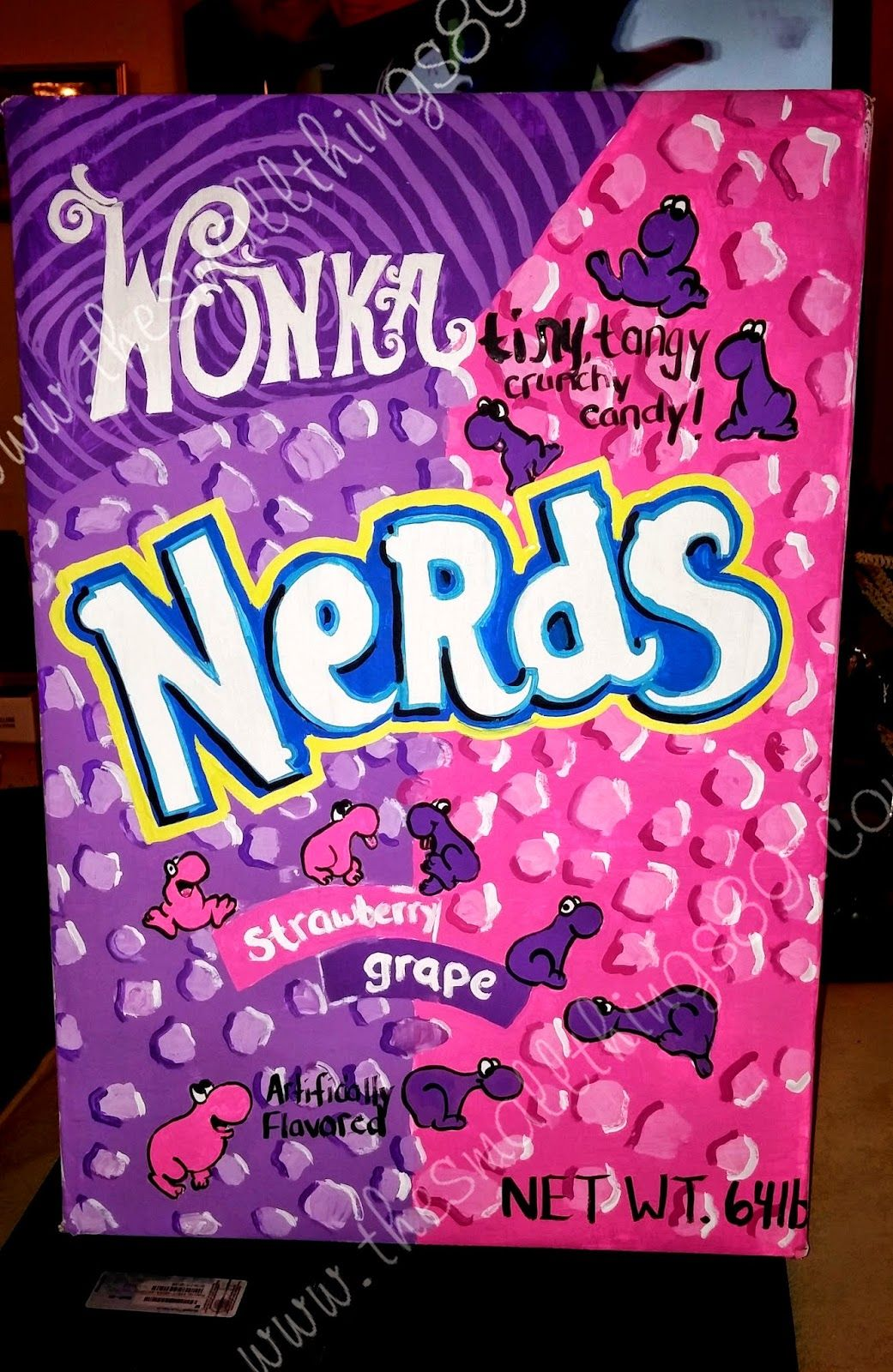 Diy Homemade Nerds Candy Halloween Costume The Small Things Nerd Halloween Costumes Candy Halloween Costumes Candy Costumes