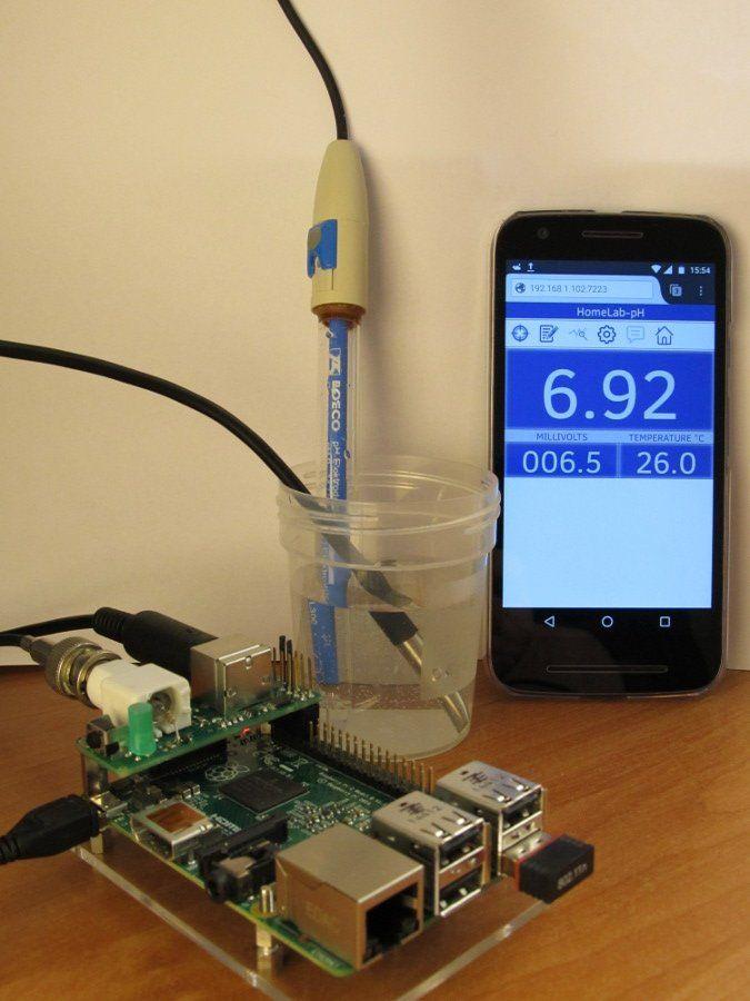 HomeLab pH-meter in 2019   pi   Ph meter, Arduino, Raspberry pi projects
