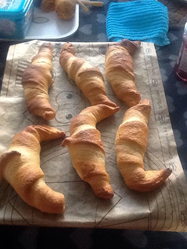 Lekkere croissant maken