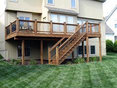 Pin By Robyn Hendricks On Dream Home Building A Deck Deck Remodel Decks Backyard