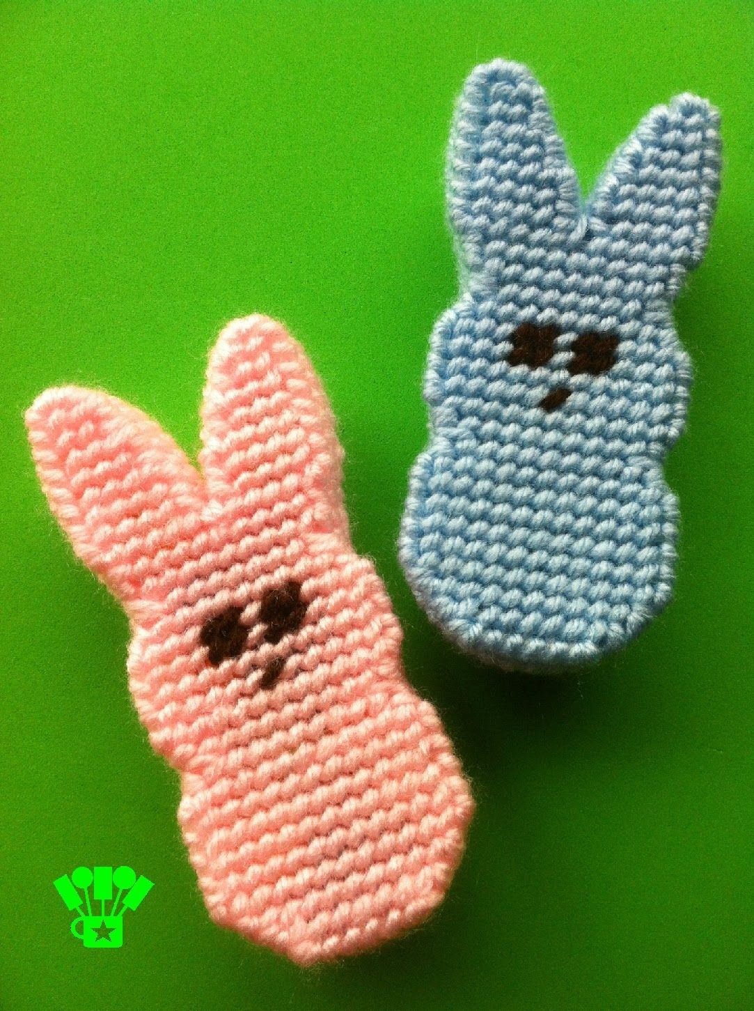 Kandy Kreations: Easter Peeps Bunny Box Plastic Canvas Pattern