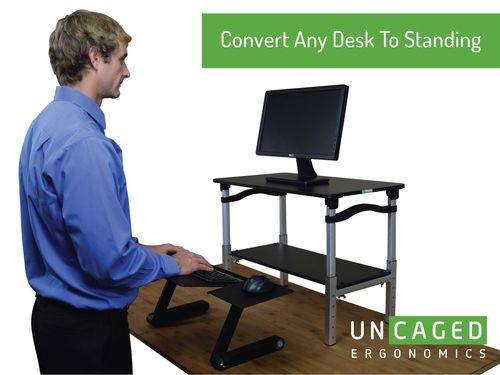 Lift Standing Desk Conversion With Images Standing Desk