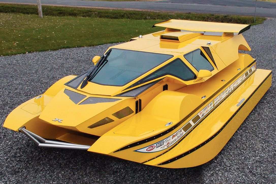 Own The Beastly 762 Hp Dobbertin Hydrocar That Dominates Land And