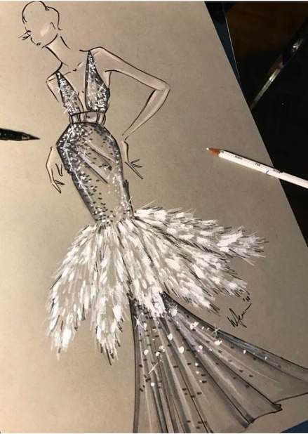 Photo of 36+ Ideas for fashion design drawings sketches haute couture