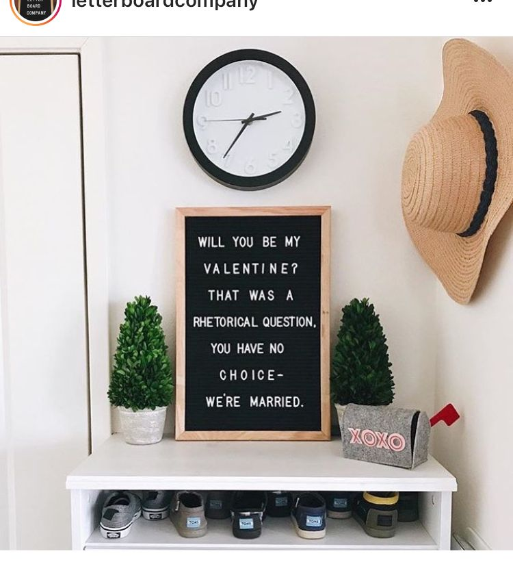 Valentine S Day Married Life Pinterest Letter Board Board And
