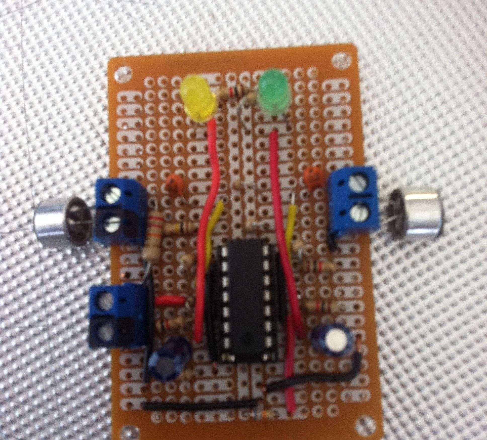 Sound Sensor Using A Lm324 Hacks Pinterest The We Will Use In This Circuit Is Tcs3200 Color