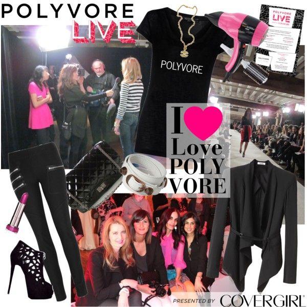 POLYVORE LIVE Rocks NYFW!