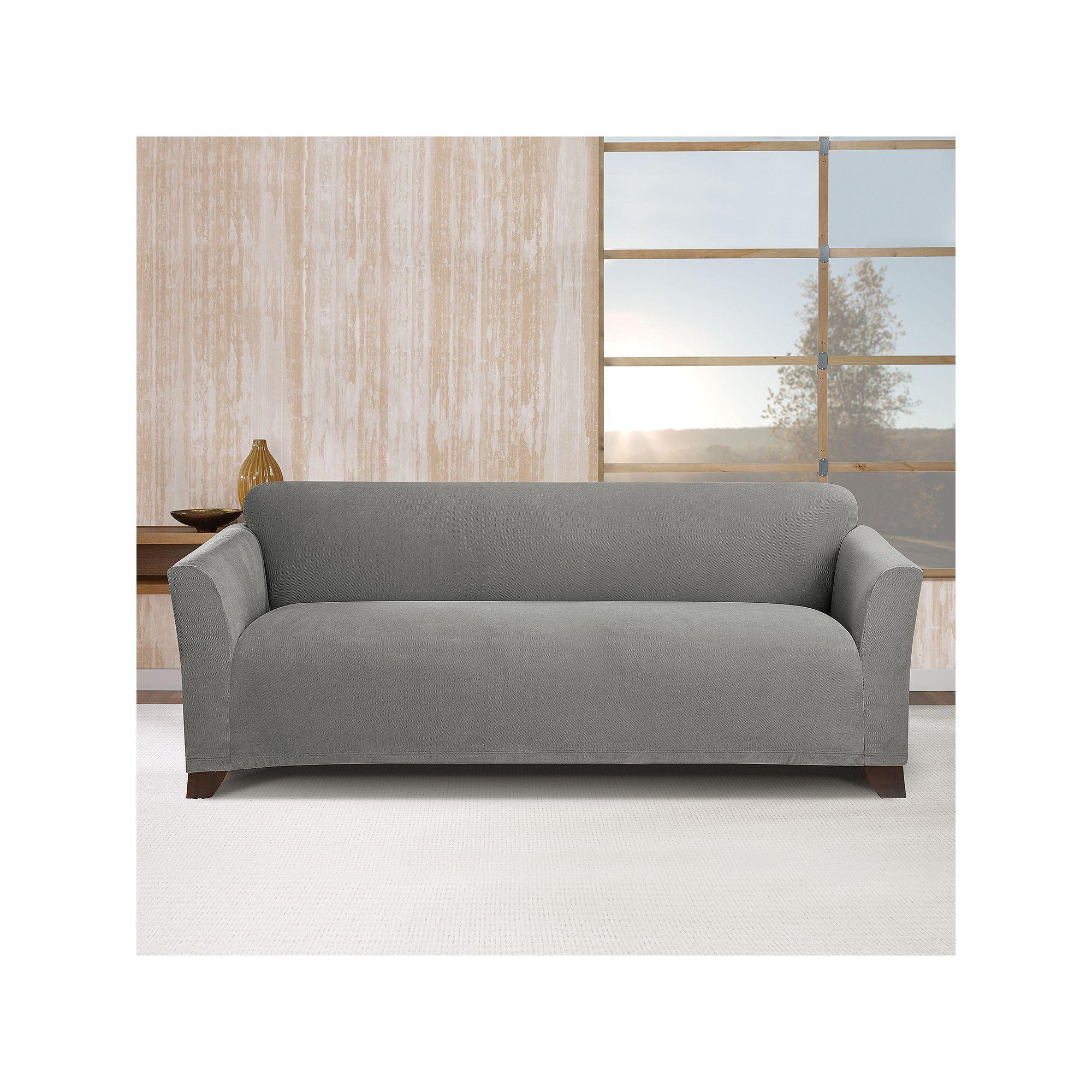 Sure Fit Stretch Morgan Sofa Slipcover | Cushions on sofa ...