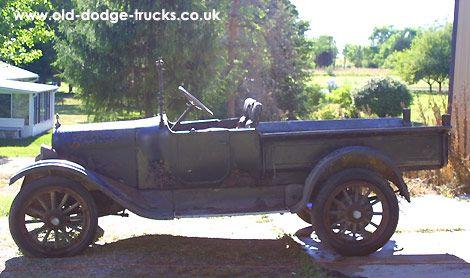 1920 Dodge Brothers 39 Screenside39 Commercial Car Dodge