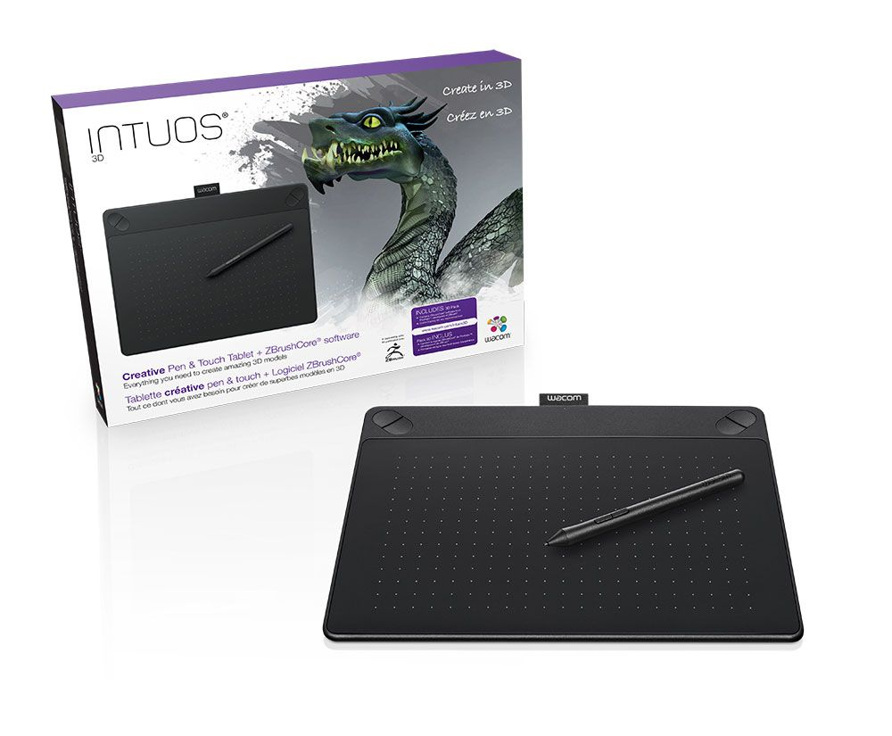 Zbrushcore And Wacom Bundle Wacom Intuos Art Tablet Touch Tablet