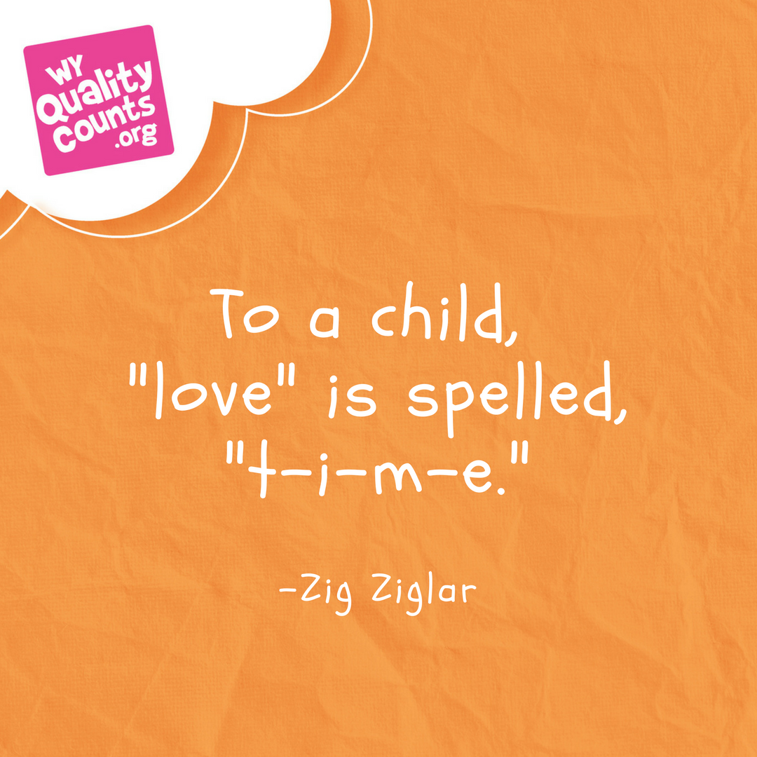 LOVE is spelled TIME. quality time with your kids quote  Family