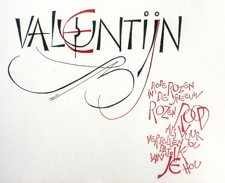 Kalligrafie - kapitalen