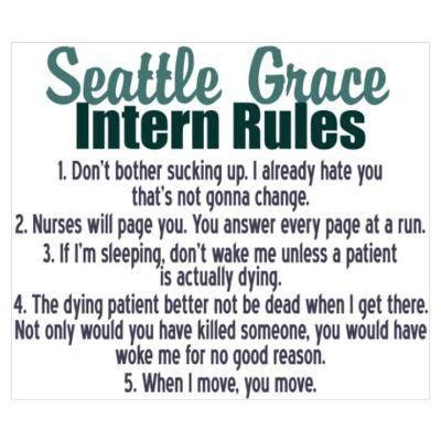 Bailey's intern rules