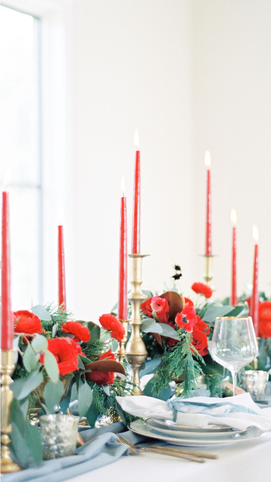 Warm Winter Wedding Colors with Timeless Style | Blue winter ...