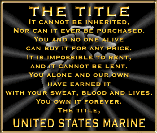 Famous USMC Quotes HAPPY 60th BIRTHDAY To The MARINE CORPS And Extraordinary Famous Marine Corps Quotes
