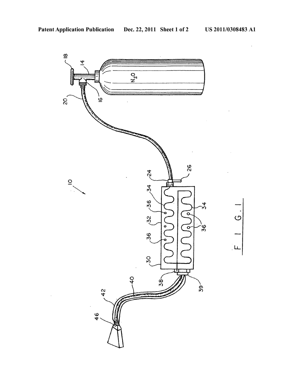 Nitrous-oxide system for internal combustion engine