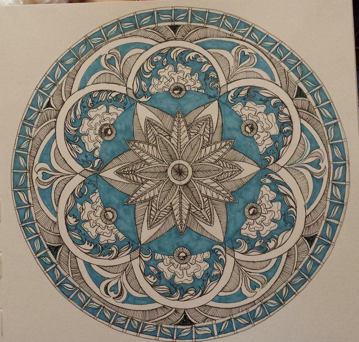 Zentangle with tudor roses | Mandala art, Tattoo pattern, Art