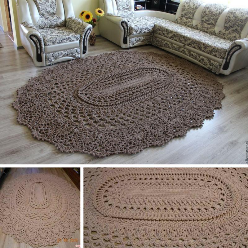 Giant Area Rugs Free Crochet Patterns Crochet Rug Patterns