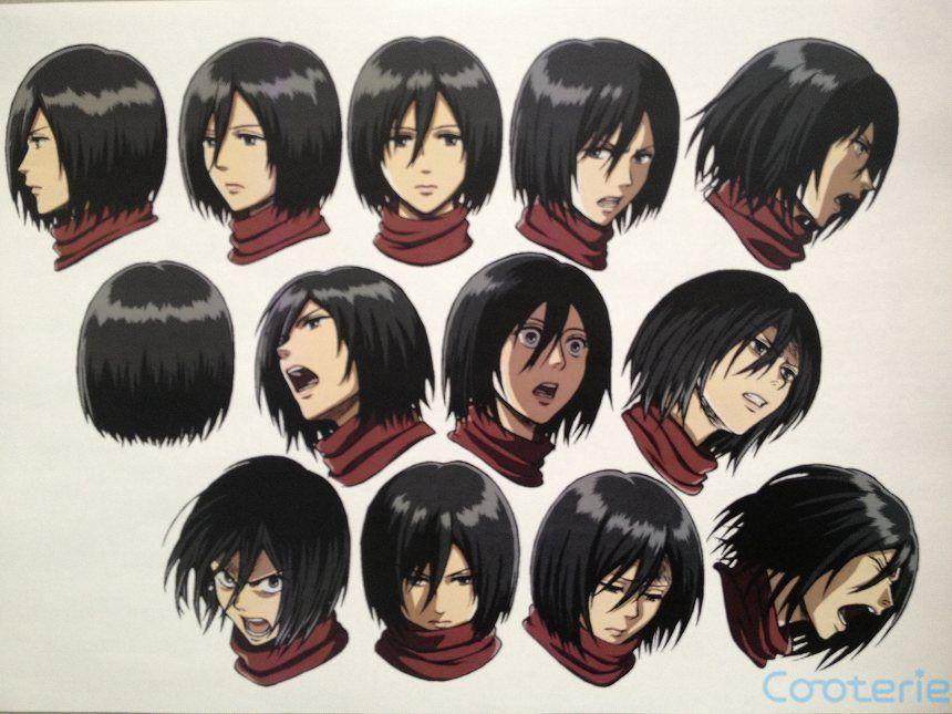 Shingeki No Kyojin Character Sheet