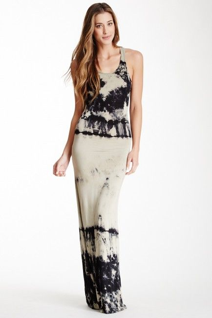 Go Couture Tie-Dye Maxi Dress