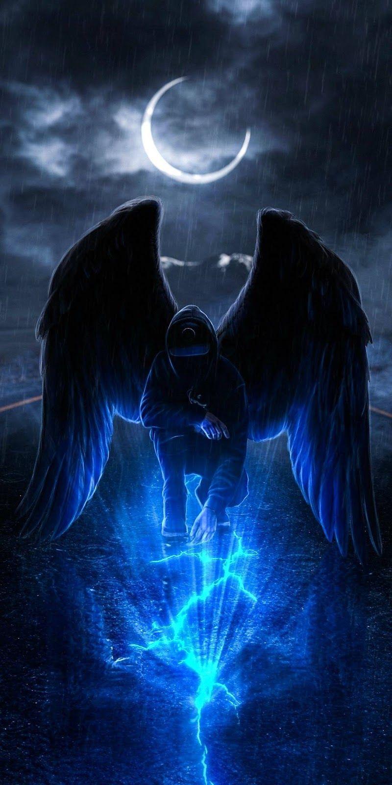 Dark Angel In 2020 Angel Wallpaper Hypebeast Wallpaper Neon