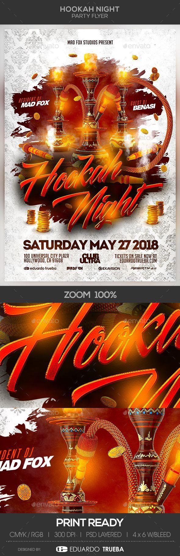 hookah night party flyer pinterest party flyer night parties