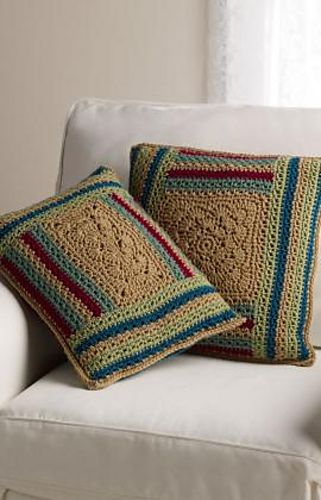 Ravelry Log Cabin Variations Pillows Pattern By Katherine Eng