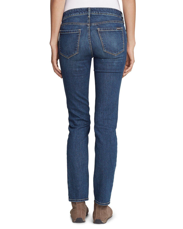 Women's Elysian Slim Straight Jeans Slightly Curvy